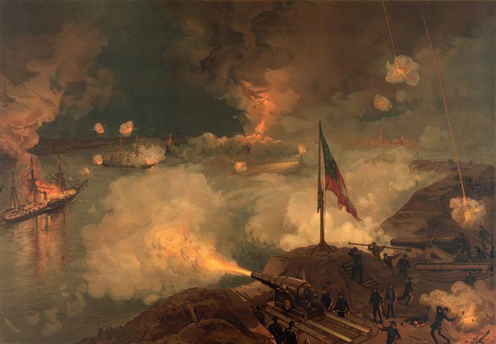 Civil War Battle of Port Hudson - Yvonne