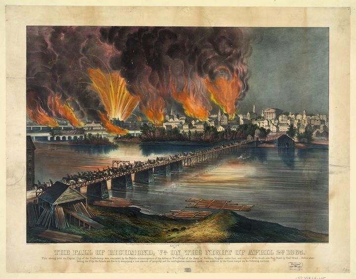 The Fall of Richmond (1865) - Yvonne