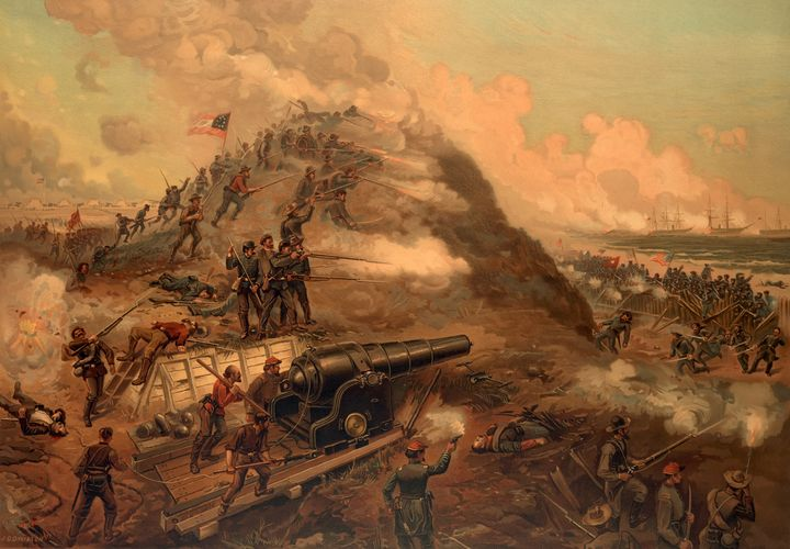 Civil War Capture of Fort Fisher - Yvonne