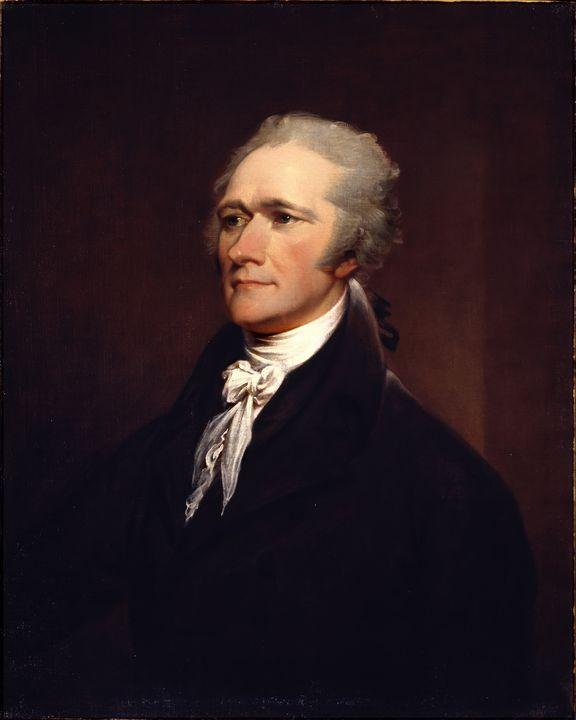 Alexander Hamilton Portrait - Yvonne