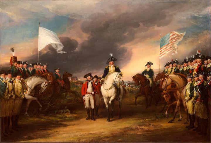 Surrender of Lord Cornwallis - Yvonne