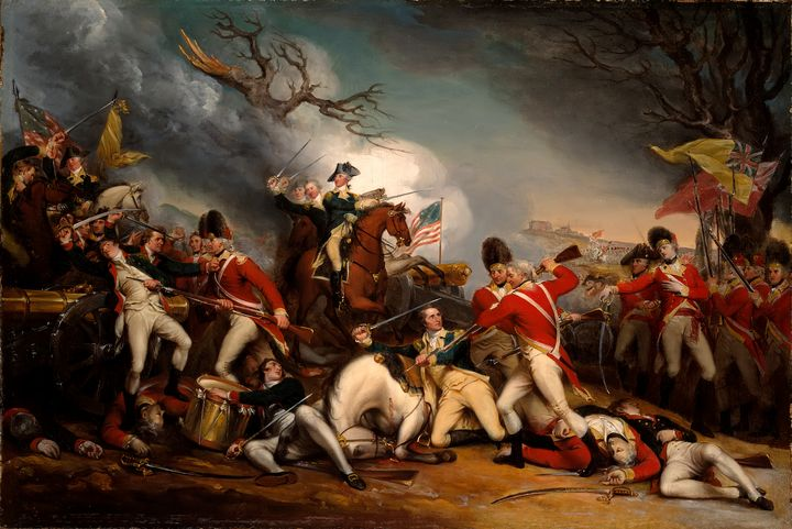 The Death of General Mercer - Yvonne