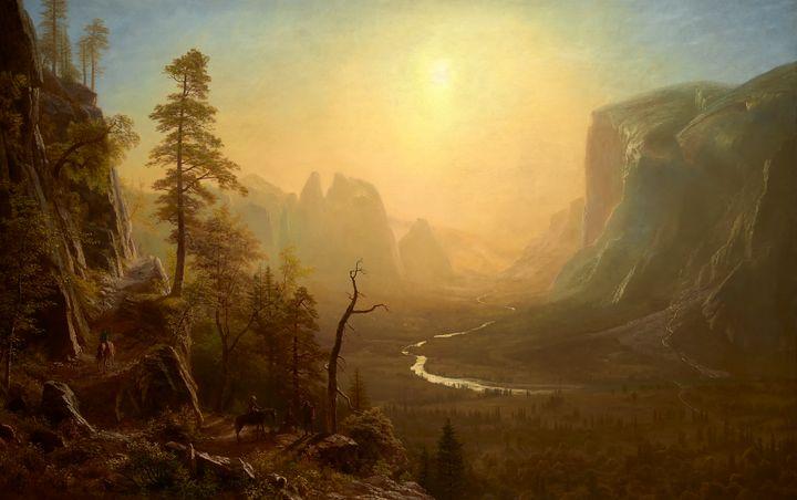 Yosemite Valley, Glacier Point Trail - Yvonne
