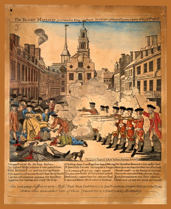 Boston Massacre (1770) - Yvonne