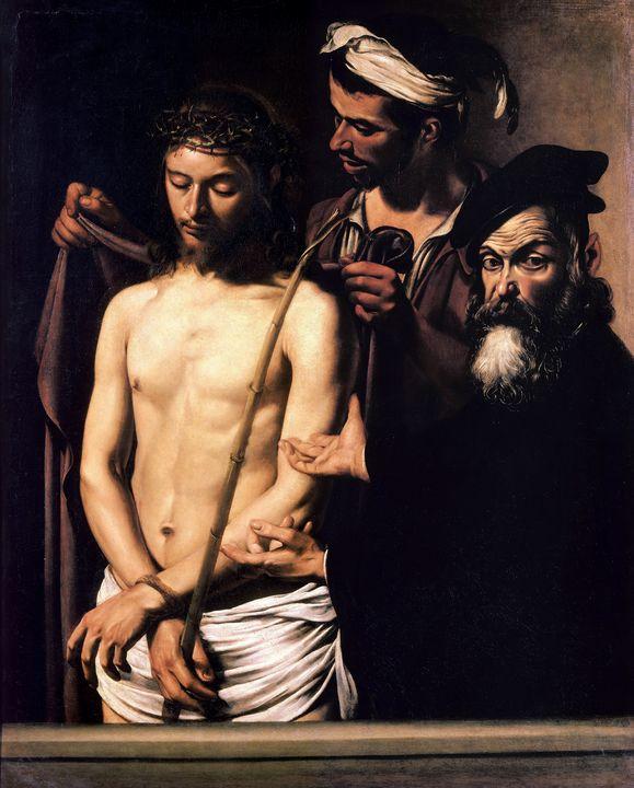 Ecce Homo by Caravaggio (1605) - Yvonne