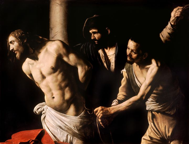 Christ at the Column by Caravaggio - Yvonne