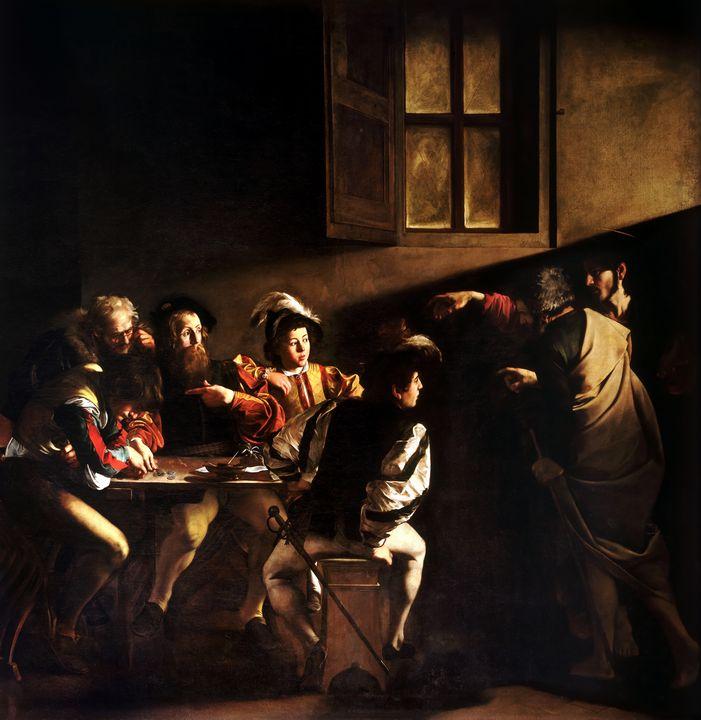 The Calling of St Matthew - Yvonne