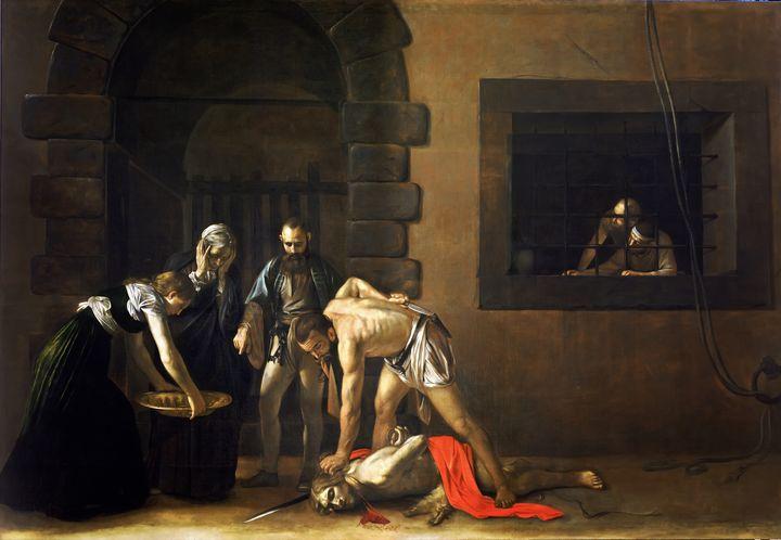 The Beheading of St John the Baptist - Yvonne
