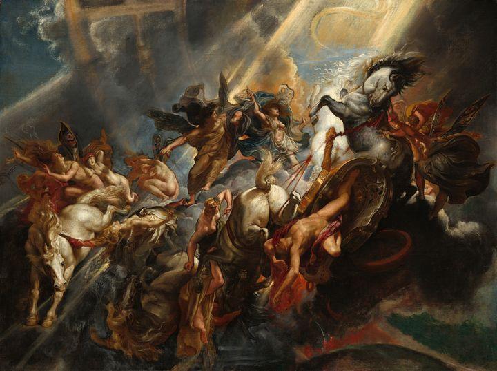 The Fall of Phaeton by Rubens (1605) - Yvonne