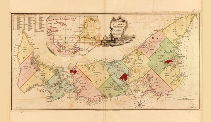 Island of St. John, Canada from 1775 - Yvonne