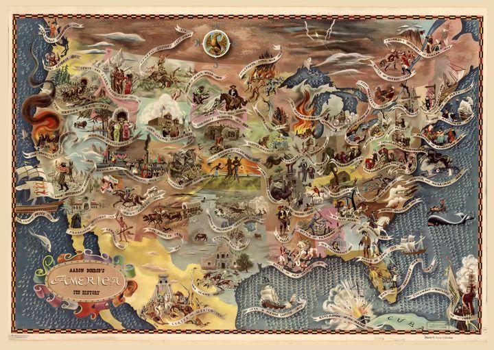 Bohrod's America, its history (1946) - Yvonne