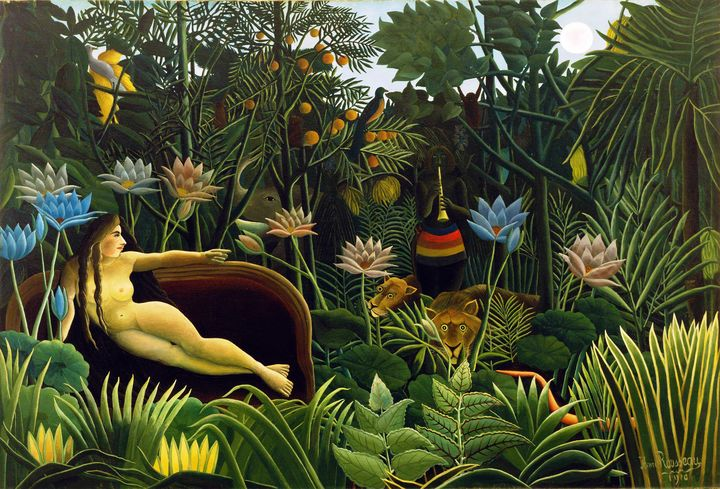 The Dream by Henri Rousseau (1910) - Yvonne