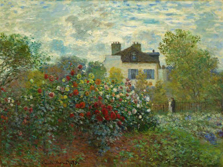 The Artist's Garden in Argenteuil - Yvonne