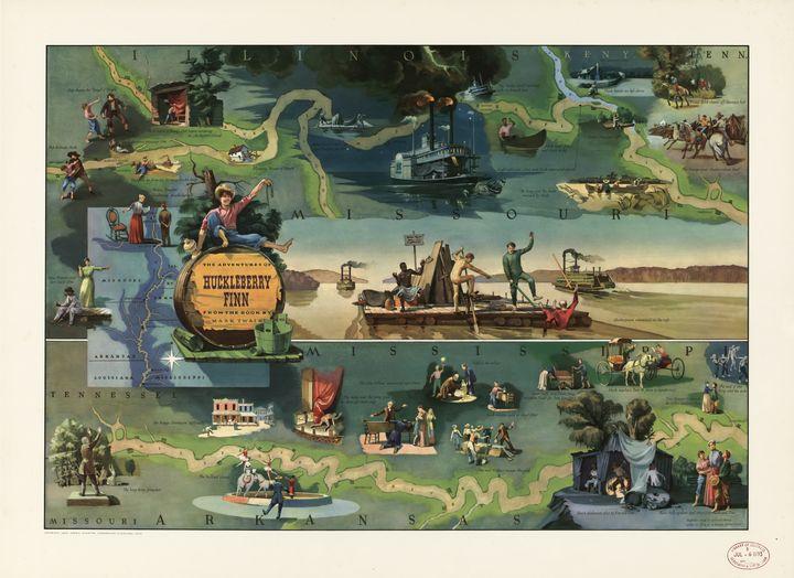 The adventures of Huckleberry Finn - Yvonne