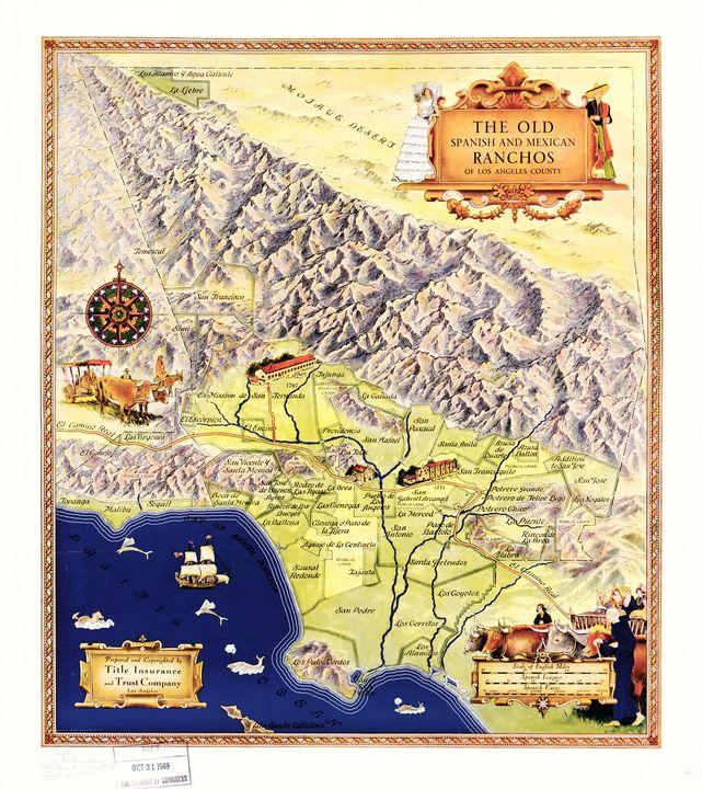 Spanish & Mexican Ranchos (1937) - Yvonne