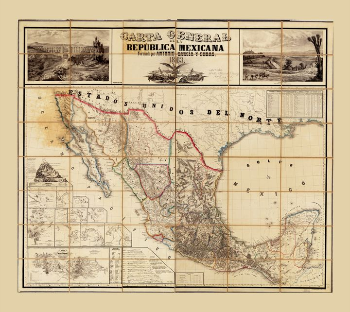 Carta República Mexicana (1863) - Yvonne