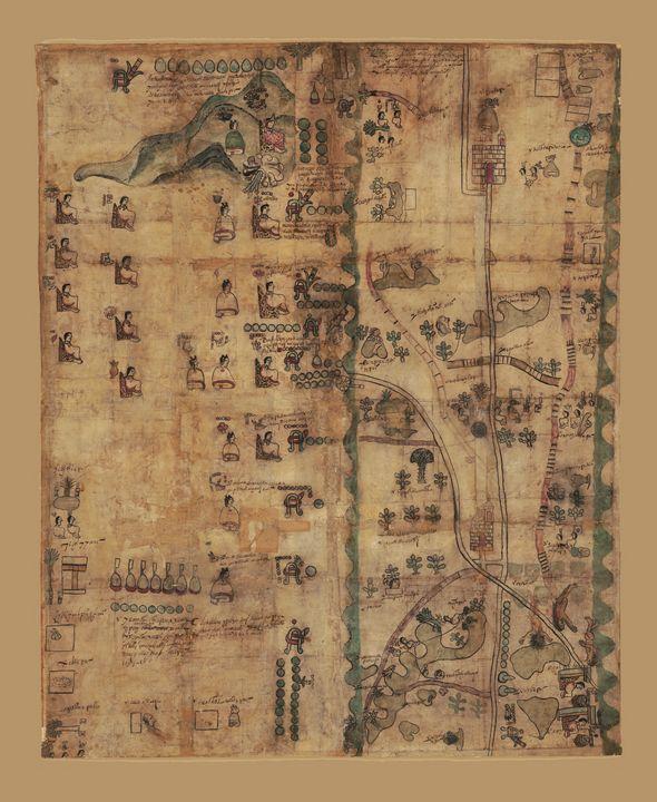 The Codex Quetzalecatzin (1593) - Yvonne