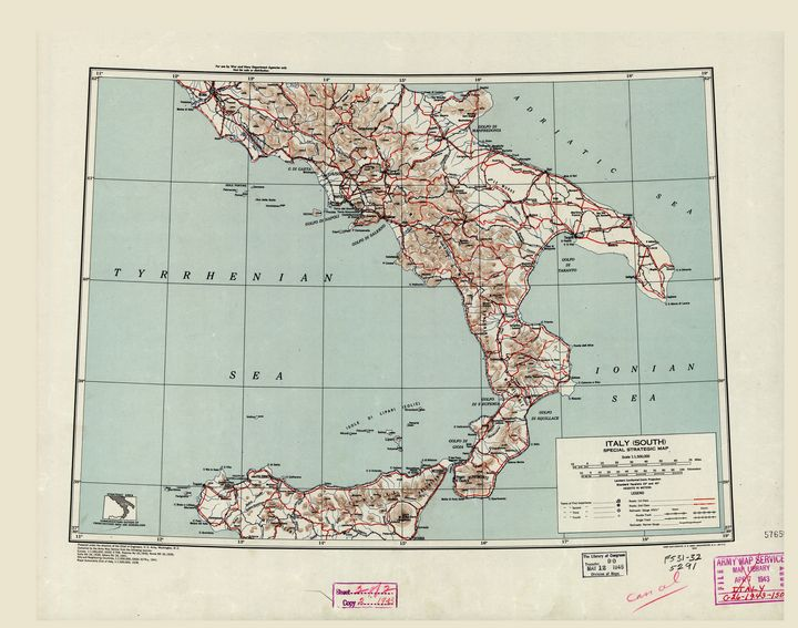 Southern Italy World War II (1943) - Yvonne