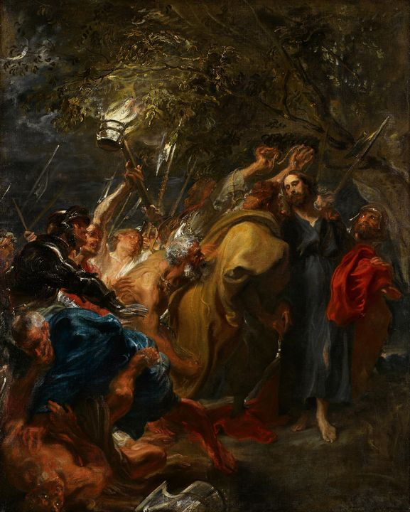 The Betrayal of Christ (1620) - Yvonne