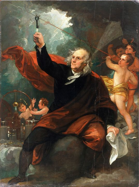 Benjamin Franklin Electricity (1816) - Yvonne