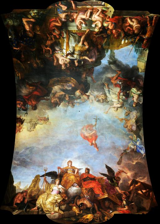 The King Governs by Himself (1661) - Yvonne