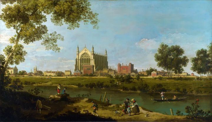 Eton College by Canaletto (1754) - Yvonne