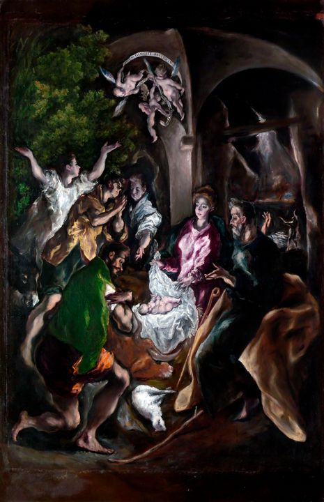 The Adoration of the Shepherds 1610 - Yvonne