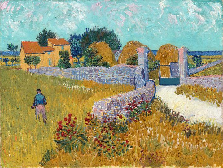 Farmhouse in Provence by van Gogh - Yvonne