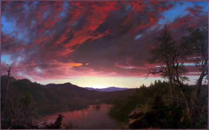 Twilight in the Wilderness (1860) - Yvonne