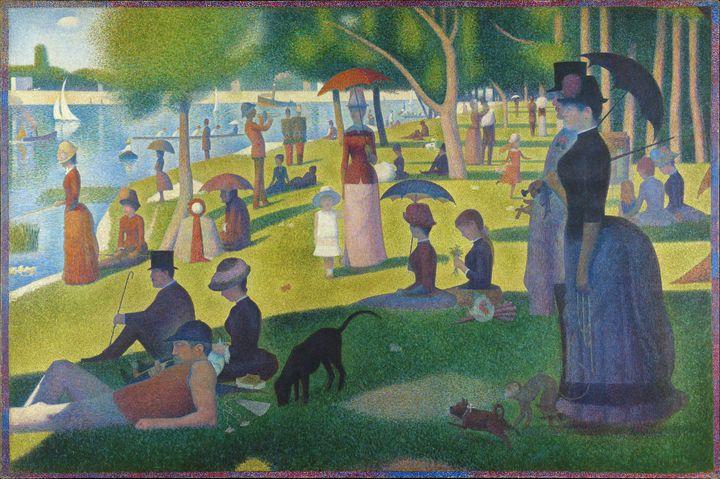 A Sunday on La Grande Jatte (1884) - Yvonne