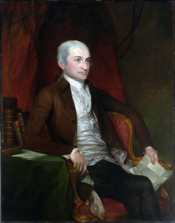 John Jay by Gilbert Stuart (1818) - Yvonne