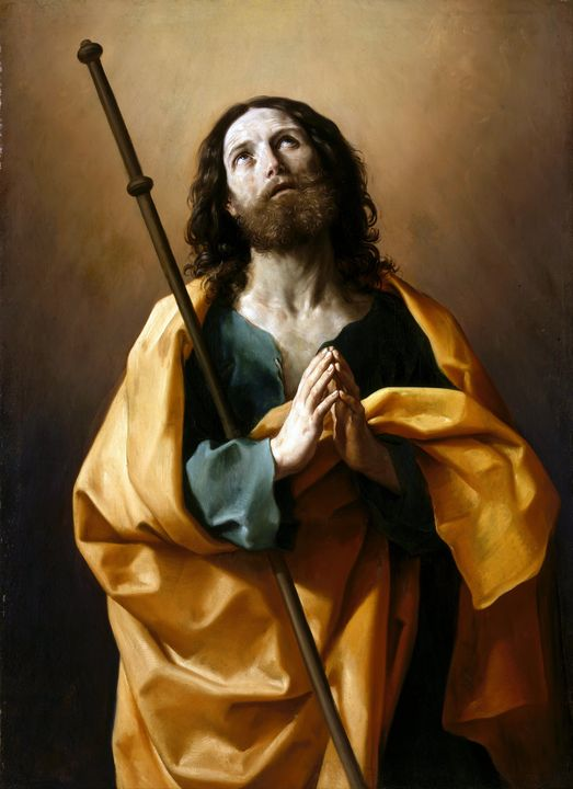 Saint James the Great by Guido Reni - Yvonne