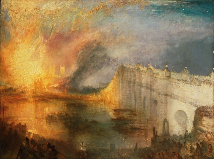 The Burning of the Houses of Lords - Yvonne