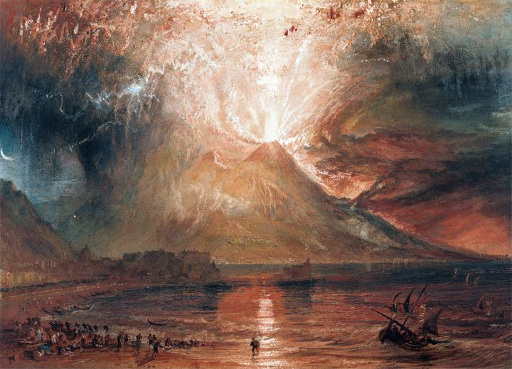 Vesuvius in Eruption (1820) - Yvonne