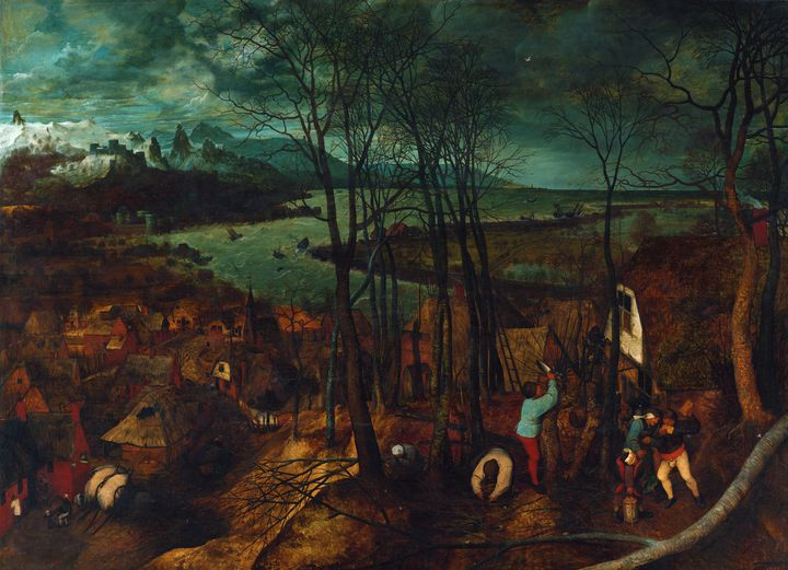 The Gloomy Day (early spring) 1565 - Yvonne