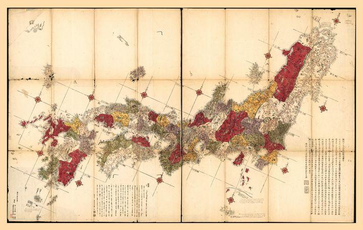 Map of Japan (1779) - Yvonne
