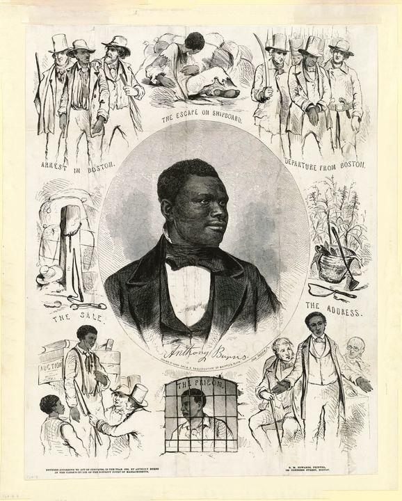 Anthony Burns (1855) - Yvonne