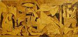 Pyrography Illustration Guernica