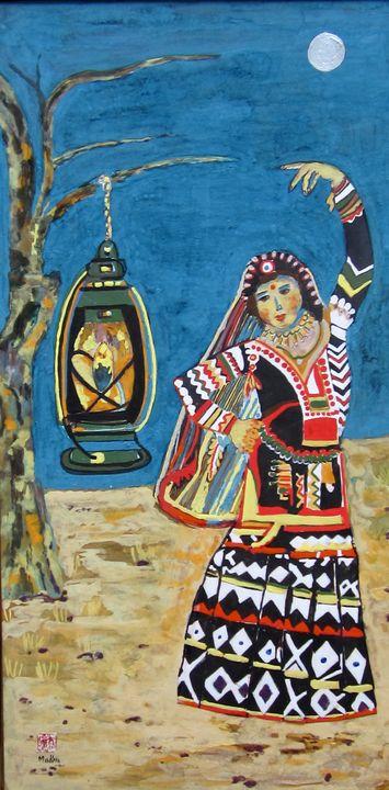 Kalbelia Performer of Rajasthan - madhus art gallery