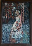 oil on canvas board