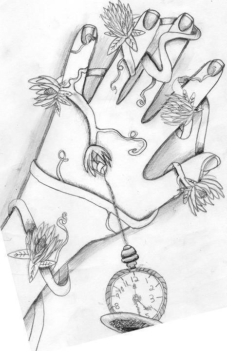 Flower Hand - JazzyGirl Artworks
