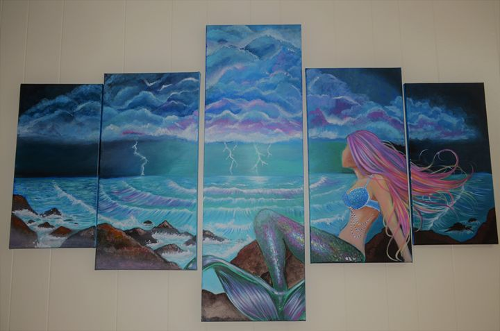 Siren's storm - Spooki Designs