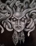 Original Medusa painting
