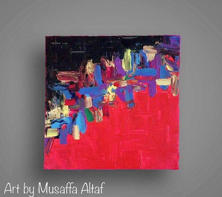 Colour storm - Art by Musaffa Altaf