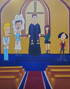 DARIA AND BUTTHEAD TIE THE KNOT