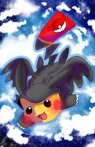 Toothless Pikachu