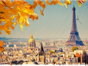 Paris in my Canvas