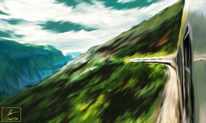 Hills of Montenegro - Subhajit Nath