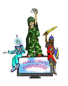 Extra Life Mallory's Marauders logo