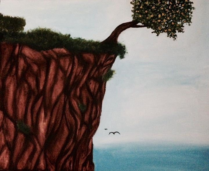 One Tree Cliff - The Angels Paintings